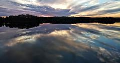 Reflected sky, Dragsfjärd, Kemiö, Finland, July 2017 (Juha Riissanen) Tags: dragsfjärd kemiö kimitö finland saaristomeri sunset clouds balticsea sea calm evening island summer archipelagosea