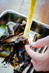 Charred leeks (stijn) Tags: food watatenzijnl leek barbecue charred bbq
