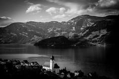 Zuger See Schweiz (Günther Bayerle) Tags: swiss church town