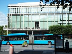 Stadsbiblioteket på Götaplatsen (tgrauros) Tags: bibliotequespúbliques göteborg gothenburg konungariketsverige stadsbiblioteket suècia sverige sweden folkbibliotekenigbr