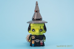tkm-Witches-Maleficent-WickedWitchOfTheWest-2 (tankm) Tags: moc lego brickheadz witches maleficent wizrdofoz wickedwithofthewest