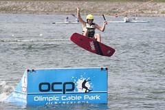 CFR0390 (Carlos F1) Tags: nikon d300 castelldefels ocp olimpiccablepark olimpic sport deporte water agua wakeboard wakeboarding wakesport wakeskate boardsport jump salto tabla surf surfing barcelona spain watersport acuatico
