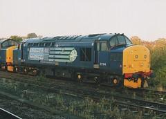 """Direct Rail Services 'Compass' Class 37/0, 37194 (37190 """"Dalzell"""") Tags: drs directrailservices compass ee englishelectric type3 growler tractor class37 class375 37194 d6894 york"""