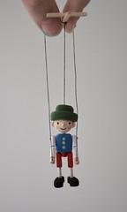 Tiny Pinocchio (Jay Bird Finnigan) Tags: miniature pinocchio puppet marionette