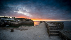 DSCF3621-HDR-2 (douglaswestcott) Tags: charlestown cornwall coast coastal harbour hdr tripod sunrise fisheye fuji fujifilm xt1 samyang 8mm