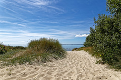 Insel Föhr (M. Franziska D.) Tags: nordee nordfriesland inselföhr wolken dünen strand felder