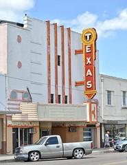 Texas Theater - Raymondville,Texas (Rob Sneed) Tags: usa texas raymondville southtexas texastheater movietheater sign neon vintage closed willacycounty advertising urban smalltown gatewaytotheriograndevalley cinema marquee boxoffice texana americana urbex facade