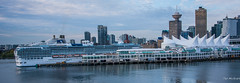 2017 - Vancouver - Canada Place (Ted's photos - For Me & You) Tags: 2017 alaskacruise bc canada cropped nikon nikond750 nikonfx tedmcgrath tedsphotos vancouver vancouverbc vancouvercity vignetting cans2s canadaplace britishcolumbia islandprincess portofvancouver burrardinlet ship boat wideangle widescreen