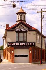 Westphal Hose Co. #5 - Martinsburg, VA (SeeMidTN.com (aka Brent)) Tags: martinsburg wv westvirginia berkeleycounty westphal hosecompany firehall firehouse welcome neon us11 bmok forevermoorewed top10of2017