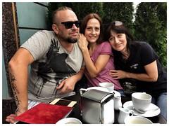 2017. Lviv. Ukraine (bobobahmat) Tags: smile face group portrait people glasses cafe street city girl woman men man friends ukraine lviv life 2017