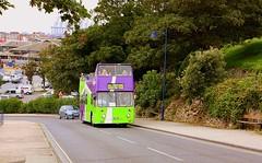 Open top Convalescent Hill (Chris Baines) Tags: ipswich buses leyland atlantean convalescent hill felixstowe mrt 9p 1976 built