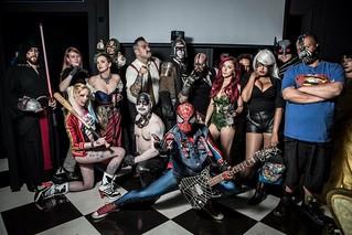 PunkRock Spiderman (Spidey LV) & the gang @ Millennium Fandom Bar 5.19.17 #cosplay #cosplays #cosplayer #cosplayers #punkrockspiderman #spidey #spideylv #blackcat #bane #poisonivy #harleyquinn #jjonahjameson #wolverine #kimpossible #disneybelle