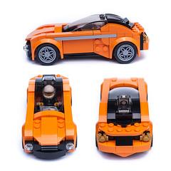 75880 sportscar alternate model (KEEP_ON_BRICKING) Tags: lego speed champions 75880 mclaren 720s set moc mod remake alt alternate alternative model car vehicle conceptcar fast coupe sportscar keeponbricking