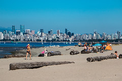Lovin' Locarno 💙🌞 Vancouver, BC (Michael Thornquist) Tags: englishbay locarnobeach beach sand skyline cityscape vancouver britishcolumbia dailyhivevan vancitybuzz vancouverisawesome veryvancouver 604now photos604 explorecanada ilovebc vancouverbc vancouvercanada vancity pacificnorthwest pnw metrovancouver gvrd canada