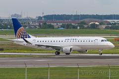 United Express Canada (N89349) (Vince Amato Photography) Tags: cyyz canada e175 e75 emb175 embraer n89349 ontario pearsoninternationalairport toronto ual unitedexpress yyz