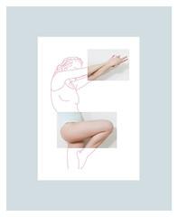 Limits 3 (MitikaFe) Tags: limits visualart artistic body girl photography drawing pink pastel skyblue