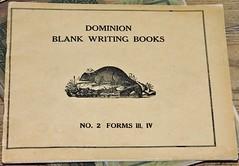 (Will S.) Tags: dominion blank writingbook vintage mypics osgoodetownshipmuseum vernon osgoodetownship ottawa ontario canada