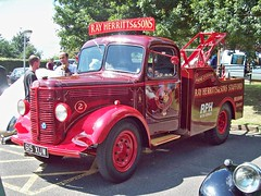 520a Bedford K series Recovery Truck (1951) (robertknight16) Tags: bedford british 1950s recovery wrecker truck lorry herritts stafford 615xuw