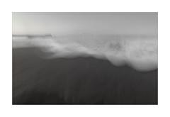 "Wave series 4 Bombo ""Winter Chill"" (Peter & Olga) Tags: kiama bombo movement winter ocean emotive cold experimenting olgabaldock abstract doubleexposure d810 july 2017"