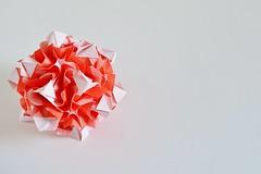 Alpina Kusudama (Byriah Loper) (Byriah Loper) Tags: origami origamimodular modularorigami modular kusudama paperfolding paper polygon polyhedron byriahloper crease