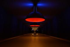 Westfriedhof metrostation München (agnes.mezosi) Tags: underground metro station metrostation munich münchen nikond5200 nikon