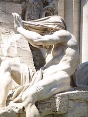 Fontaine des 4 fleuves (mfricheteau) Tags: fontaine fleuve rome sculpture fancelli nil