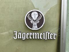 Jaegermeister Logo cracks (herr loeffler) Tags: logo brand jägermeister jaegermeister texture textures textur