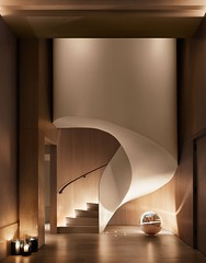 Hotel Tip in NY (inspiration_de) Tags: architecture hotel modern staircase