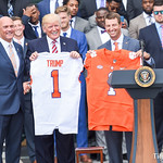 Clemson Tigers visit White House as national champions