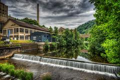 Usine de la Forêt-Noire (Batram) Tags: usine de la forêtnoire paper factory papierfabrik urbex urban exploration lost place hdr
