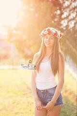 IMG_6974 (Galika_) Tags: teen girl long hair smile sunset sundown summer wreath flower portret memory natural naturallight white green canon 6d 85mm 8518 bulgaria