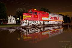 Light me up... (fyrrob) Tags: locomotive atsf92 irm fp45 superfleet santafe