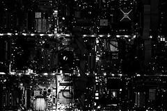 (willy vecchiato) Tags: abstract abstraction dark darkest oscura obscure blackandwhite monochrome biancoenero monocramatico mono night city circuit electric strange noir fuji x100s 2017 wwwwillyvecchiatocom creative creativo surreale surreal surrealism
