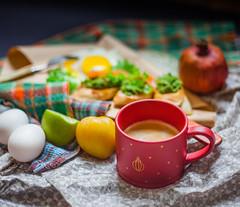breakfast (tekkin) Tags: food foodflatlay darkfoodphoto smoothie foodlover frenchtoast flatlay