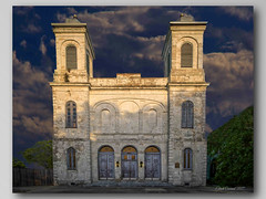 Marigny Opera House, New Orleans (Elliott Cowand) Tags: marigny bywater neworleans theatre wedding music frenchquarter louisiana building architecture exterior america usa allrightsreserved copyright elliottcowandyahoocom elliottcowand venue old church sunset magichour canon eos canon60d dwwg ngc city stockphotography