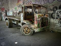 E-M1MarkII-13. Juli 2017-14-51-53 (spline_splinson) Tags: consonno graffiti graffitiart graffity italien italy lostplace losttown oldcar oldtruck ruin ruinen ruins truck lombardia it