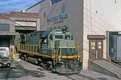 Got Pulp? (Joe Geronimo) Tags: kodak kodachrome railroad train newyork adirondacks usa america film travel amtrak csx conrail norfolksouthern utica