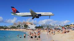 Delta (N6716C) (A Sutanto) Tags: airport sxm saint maarten princess juliana maho beach delta airlines dl n67416c boeing b757 plane spotting aviation airliner jet
