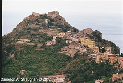 CNV00002s (Cameron A. Straughan) Tags: travel tourism eccentric quirky surreal odd architecture street history angles lines culture 35mm exposures film developing 400 iso real photography traditional photographs fuji stx2 camera processing tamron zoom lens 35 mm manual colour color photos classic old school ilford taormina hill mountains sicily mount etna active volcano teatro antico di ancient greco¬roman godfather francis ford coppola italy