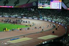 Tatyana McFadden - wheelchair racer (h_savill) Tags: london 2017 world para athletics champs stratford olympic stadium athlete sport compete medal wheelchair race 200m