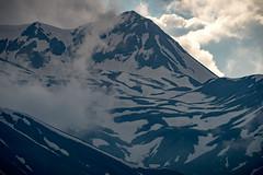 Close-up on mountain peak near Gudauri, Georgia (CamelKW) Tags: georgia june2017 closeup mountainpeak gudauri
