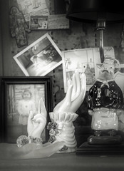 small strange still lifes (bunchadogs & susan) Tags: notyourusualstilllife hands lamp child oddsandends fortunacalifornia