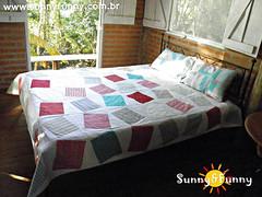 Colcha de Casal em Patchwork (sunnyfunnystudio) Tags: sunnyfunnystudio colcha patchwork colorida moderna