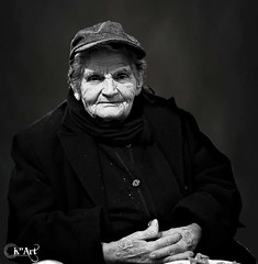 Portraiture #wrinkles #grandma #bnw #blackandwhite #portrait #sonyalpha (K^Artist) Tags: portrait blackandwhite grandma bnw sonyalpha wrinkles