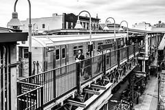 I love NY (Paolo Luppino 73) Tags: ny newyork travel people street urban jungle humans city blackandwhite biancoenero hasidic jews williamsburg hasidicjews subway persone 35mm noir