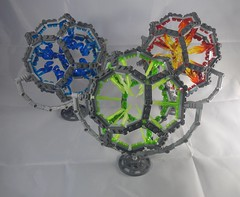 Reaction cores (donuts_ftw) Tags: lego moc dodecahedron