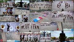 14 juillet, le spectacle (brigeham34) Tags: télévision défilédu14juillet spectacledaprèsdéfilé fanfare musique musiciens instrumentsdemusique drapeaux montage19photos