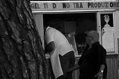 Ice cream (antonysambataro) Tags: ass morale icecream gelato gelataio lavoro bw siciliano italiani cono sancono caltagirone csnon canon1100d 70300 tamron zoom blackandwhite streetphotography