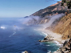 Overlook (skipmoore) Tags: california pacificocean bigsur juliapfeifferburnsstatepark beach fog
