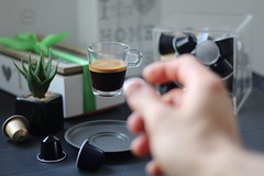 Nespresso moment (vale.rizze89) Tags: coffeebreak colazione coffee caffè espresso 50mm levitation nespresso valeweb89